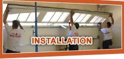 Hayward Garage Door Services installation services.